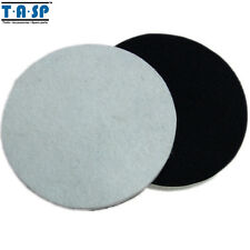 """2PC 125mm 5"""" Wool Polishing Buffing Pad For Glass Metal Multi-Surface Paintwork"""