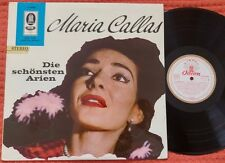 MARIA CALLAS Arias by BELLINI BIZET VERDI ROSSINI DONIZETTI Odeon Stereo LP ED1