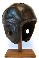 Early Old Antique 1930's REACH HSR Wing Back Leather Football Helmet Vintage WOW