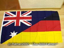 Fahnen Flagge Australien Deutsche Freundschaft - 90 x 150 cm