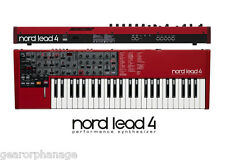Nord Lead 4 Performance Synthesizer *MINT DEMO* Lead-4 Synth With Box and all