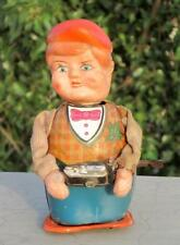 Vintage Old Rare Battery And Wind Up Cameraman Clicking Photo Tin Toy Japan?