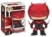Funko POP VINILO Daredevil Traje Rojo! Bobble Head Model estatuilla estatua no 120
