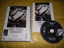 DVD-IERI,OGGI,DOMANI-CINEMA ITALIANO n 2-LA CINETECA REPUBBLICA-L'ESPRESSO