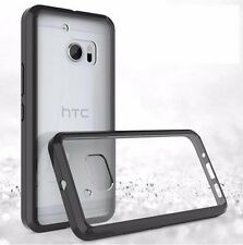 Exact Prism Clear Shockproof TPU Slim Easy Clean Bumper Smart Case for HTC 10