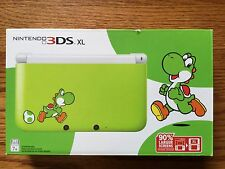 NEW Nintendo 3DS XL Yoshi Limited Edition Green & White Handheld System Console