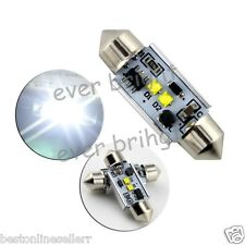 1 Pc of 36mm C5W Car Festoon DOME ROOF License Plate 2 white CREE CANBUS Led