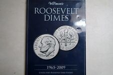 1965-2009  ROOSEVELT DIMES  4-Page WARMAN'S  FOLDER, New NO Coins Included