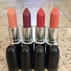 ***NO BOX MAC LIPSTICK NEW WITHOUT BOX 100% AUTHENTIC, CREMESHEEN &FROST U PICK!