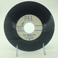 "JAY CHEVALIER- BILLY CANNON b/w HIGH SCHOOL DAYS 7"" 45 RARE 201 PEL ROCKABILLY"