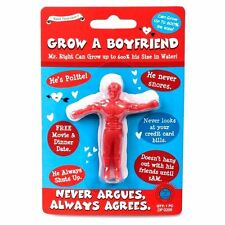 Grow A Your Own Boyfriend Valentines Idea Joke Gift Red UK Seller