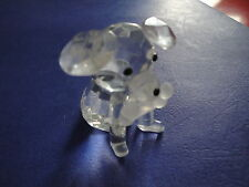 Crystal Collection Puppy Dog Figurine