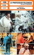 FICHE CINEMA : LE PROFESSEUR FOLDINGUE - Murphy,Pinkett 1996 The Nutty Professor