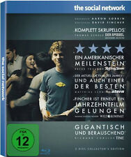 2 Blu-ray's * THE SOCIAL NETWORK (2-DISC COLLECTOR'S EDITION) # NEU OVP