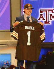 2014 Cleveland Browns JOHNNY MANZIEL Glossy 8x10 Photo Draft Day Print Poster