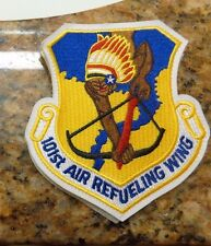USAF PATCH, 101ST AIR REFUELING WING , WITH VELCRO