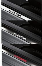 Para Hyundai - 4 X Interior Puerta Alféizares Coche Decal Sticker Adhesivo I20 - 150mm de largo