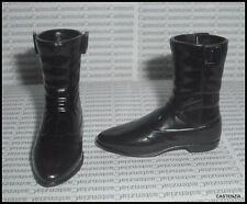 SHOES MATTEL BARBIE KEN ELVIS PRESLEY BLACK SNAP ON BOOTS CLOTHING ACCESSORY