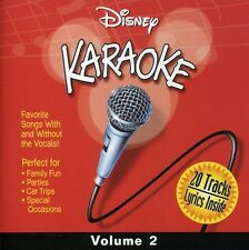 Vol. 2-Karaoke - Disney Karaoke Series (2000, CD NIEUW) Karaoke