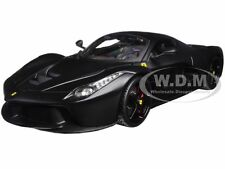 FERRARI LAFERRARI F70 MATT BLACK SIGNATURE SERIES 1:18 MODEL CAR BBURAGO 16901