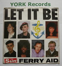 "FERRY AID - Let It Be - Excellent Condition 7"" Single Sun AID 1"