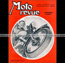 MOTO REVUE N°1329 ADLER 250 GIMA GUILLER 175 ★ Dossier Special PNEUS ★ 1957
