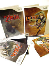 Nintendo Wii The Legend of Zelda Twilight Princess + Link's Crossbow Training