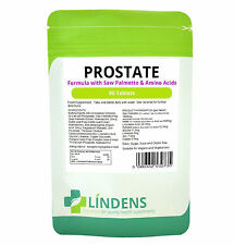 Prostate Formula 60 Tablets Lindens Saw Palmetto, Pumpkin Seeds, Amino Acids