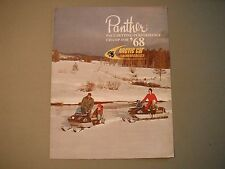 1968 Vintage Arctic Cat Panther & Cougar Snowmobiles Sales Brochure