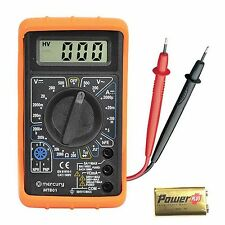 digital multimeter multitester ideal for campervan motorhome caravan solar DMM