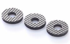 "Three 15mm Rubber Washer with 1/4"" Hole / Tripod / Bracket"