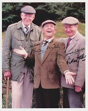 Norman Wisdom  Brian Wilde  Peter Sallis Autograph, Original Hand Signed Photo