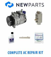 Mercedes W211 E500 2003-2006 Complete A/C Repair KIT OEM Compressor with Clutch