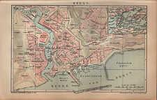 Carte City Map 1901: plan de la ville: Brest. blanc-la russie échelle: 1: 16.000
