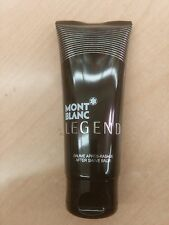 MONT BLANC LEGEND MEN AFTER SHAVE BALM 3.4/ 3.3 OZ/ 100 ML NEW IN TUBE AS PIC'D