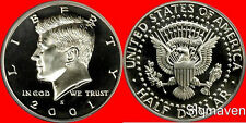 2001 S Clad Kennedy Half Dollar Deep Cameo Gem Proof No Reserve