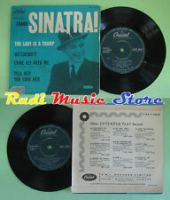 LP 45 7'' FRANK SINATRA The lady is a tramp Witchcraft Come fly me no cd mc dvd