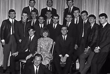 "Cilla Black and the Mersey Sound Bands 10"" x 8"" Photograph no 28"