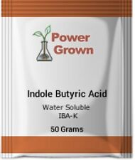 Indole Butyric Acid Water soluble 50 grams 99% pure IBA-K W/ Instructions