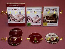 3x DVD _ Keinohrhasen & Zweiohrküken & Kokowääh _ Sehr guter Zustand