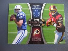 ANDREW LUCK/RGIII 2012 TOPPS PARAMOUNT PAIRS #PA-LG