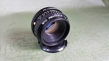 Pentax-A SMC 50mm f:2 Camera Lens. Made in Japan.