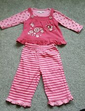 Baby Girls top shirt by NURSERY TIME. 3 piece set. Size 6-12 months. BRAND NEW