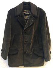 Vintage Sears Oakbrook Sportswear Green Corduroy Lined Jacket Mens Size 40 R