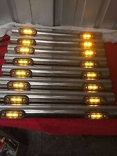 1 PAIR STAINLESS STEEL LIGHT BAR DAF SCANIA VOLVO MAN MERC TRUCK
