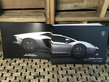 2014 LAMBORGHINI AVENTADOR LP 700-4 OWNERS MANUAL ((BUY OEM NEW))