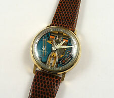 Bulova 218 Accutron Gents Original Spaceview Vintage 1970 Wristwatch