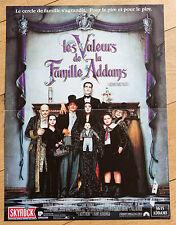 Affiche de cinéma : LES VALEURS DE LA FAMILLE ADDAMS de BARRY SONNENFELD