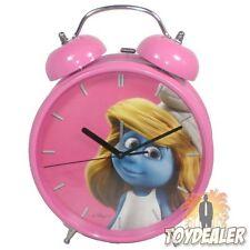 Die Schlümpfe Schlumpfine Pink Rosa Smurfs Alarm Uhr Wecker Clock Schtroumpfs