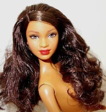 2015 Barbie Nude AA Model Muse Holiday Collector Doll Mbili Face 4 OOAK